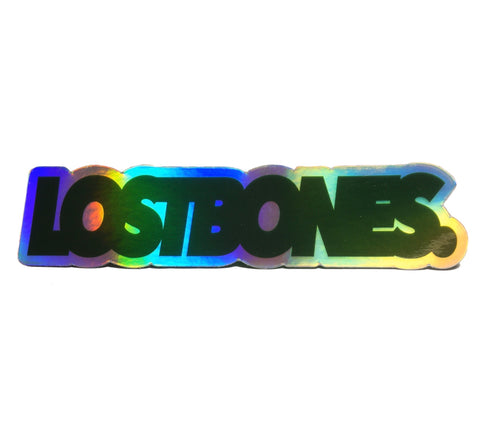 Holographic Logo sticker