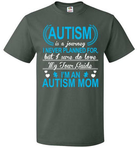Autism Is A Journey I'M An Autism Mom