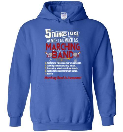 5 Things About Marching Band Five Funny Meaning Gift