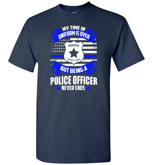 Being A Police Officer Never Ends