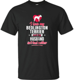 Womens Bedlington Terrier T-Shirt For Dog Lovers Gag Gift Funny Dog - Shirt