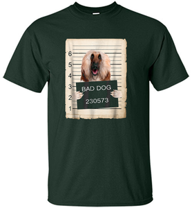 Afghan Hound Dog mug shot Shirt - Shirt