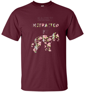 Easily Distracted By Bedlington Terrier Dog Shirt. - Shirt