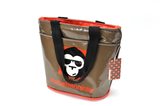 RebelMonkey OrangeOnBrown Vintage Shopper