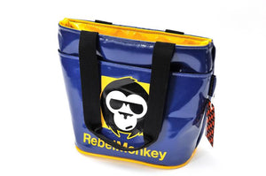 RebelMonkey YellowOnBlue Vintage Shopper