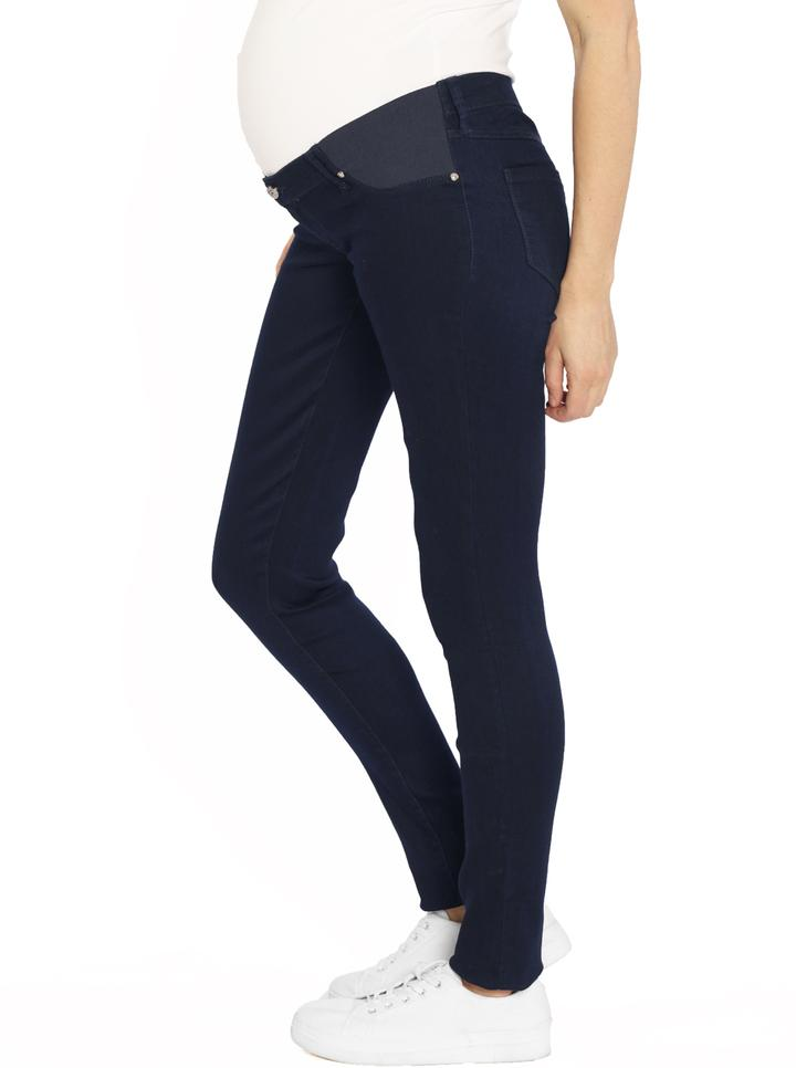 Angel Maternity Comfortable Stretch Slim Jeans - Navy
