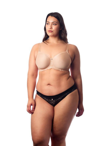 Hotmilk 'Obsession' Nude Contour Nursing Bra - Flexi Underwire