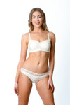 Hotmilk Show Off Bikini Brief - Ivory