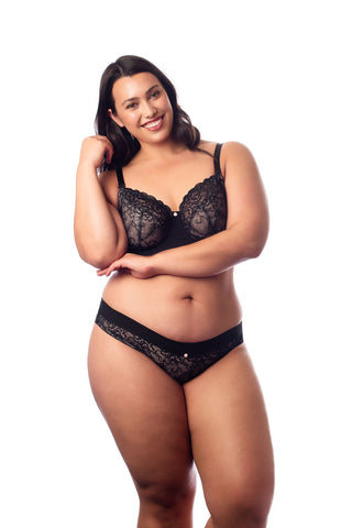 Hotmilk Temptation Black Nursing Bra - Flexiwire