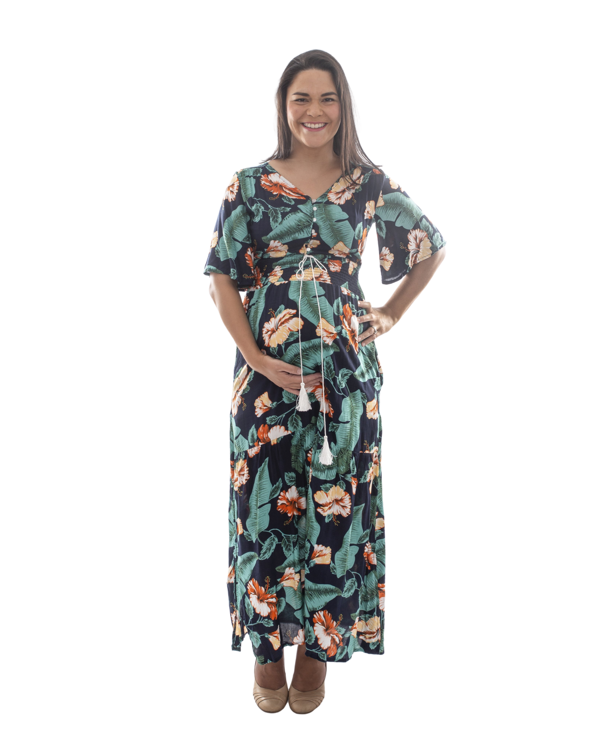 Mamushka 'Zelli Marie' Maternity & Nursing Dress