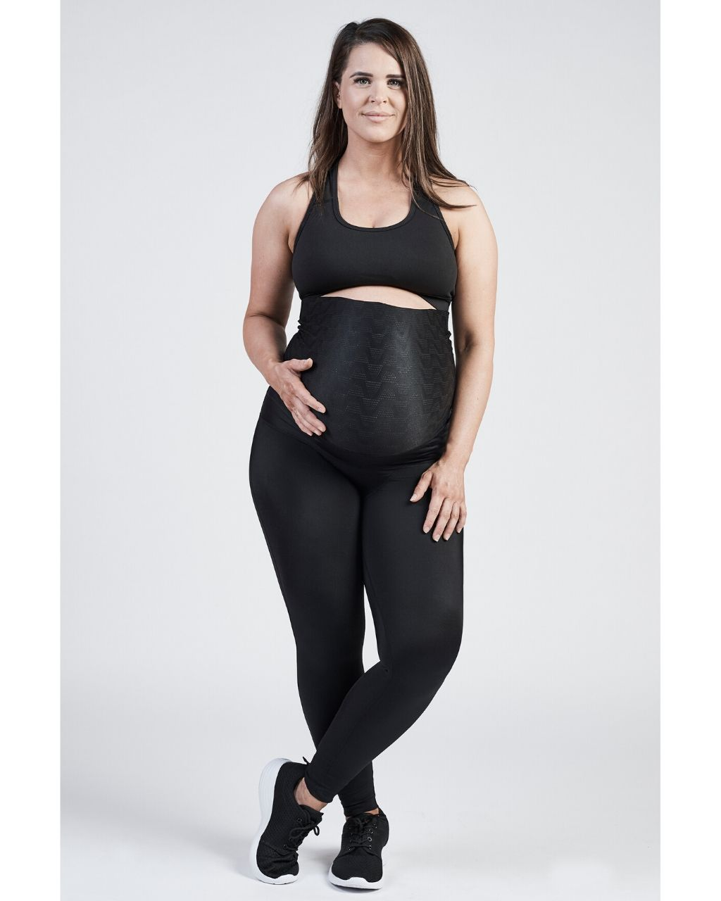 SRC Pregnancy Leggings - Over The Bump - Black