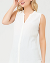 Ripe Maternity 'April' Nursing Tunic Top - Ivory