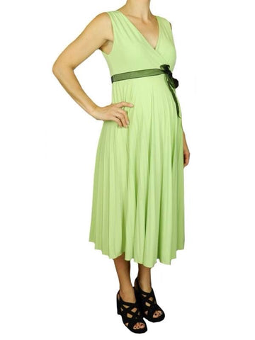 Szabo 'Sunray' Dress in Lime