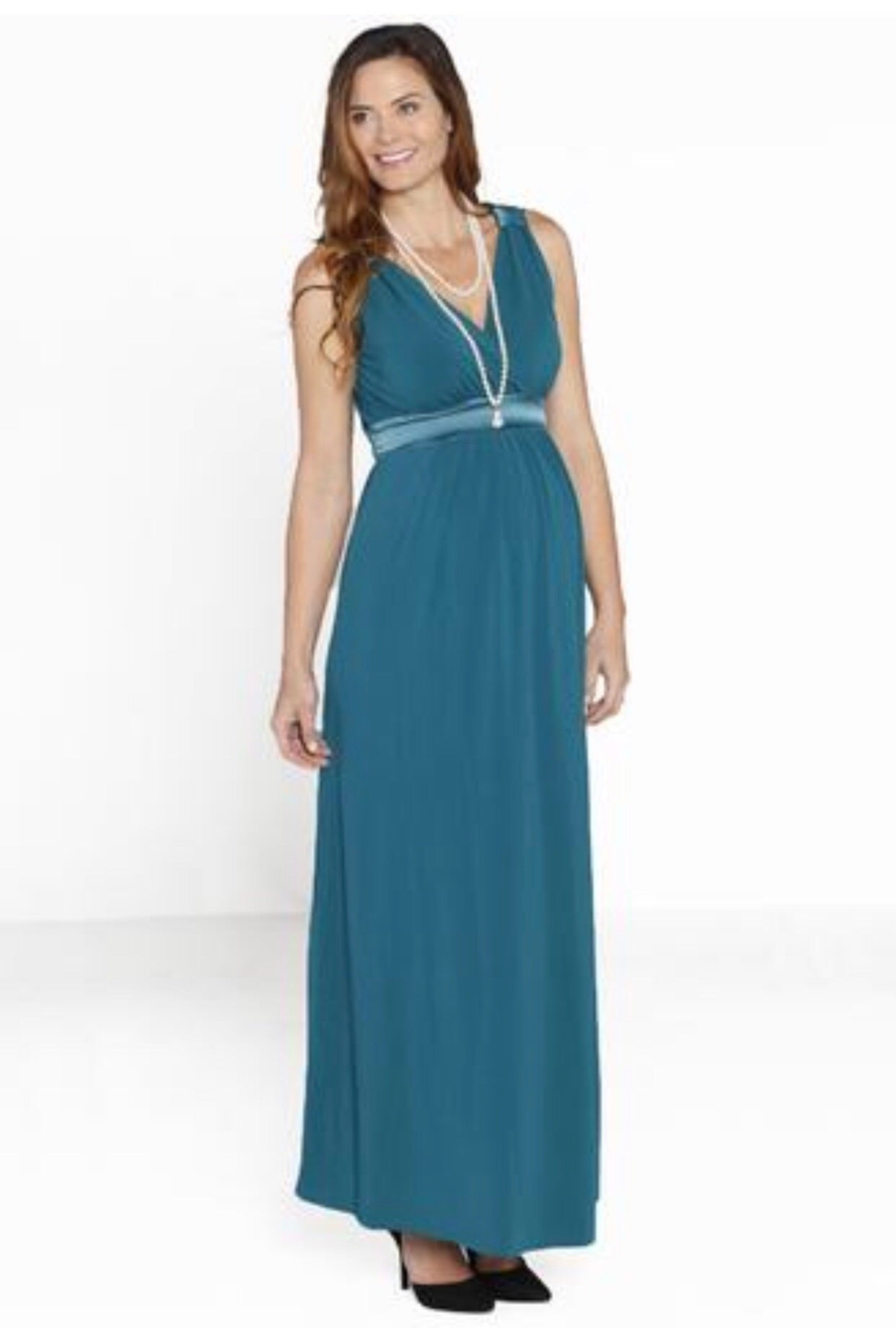 Angel Maternity 'Sue' Maternity & Nursing Formal Dress