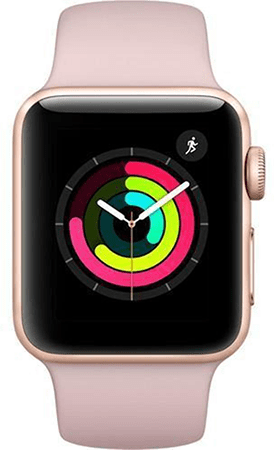 Apple Watch Series 3 - Stainless Steel 38mm