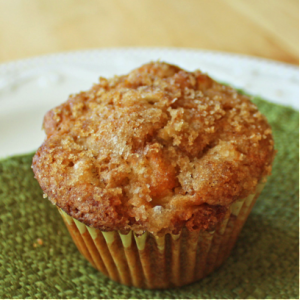 Maple & Brown Sugar Bacon Sausage Apple & Cinnamon Muffins