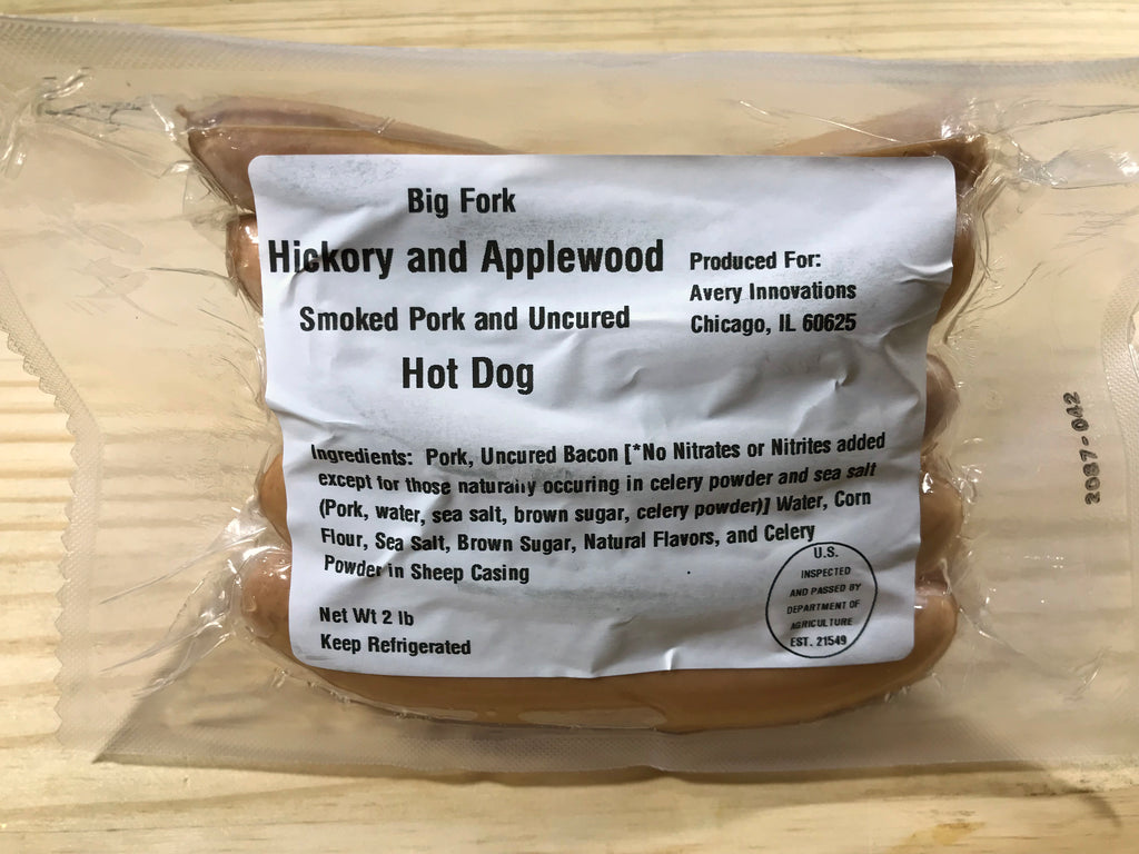 Bacon Hot Dogs - Big Fork Brands