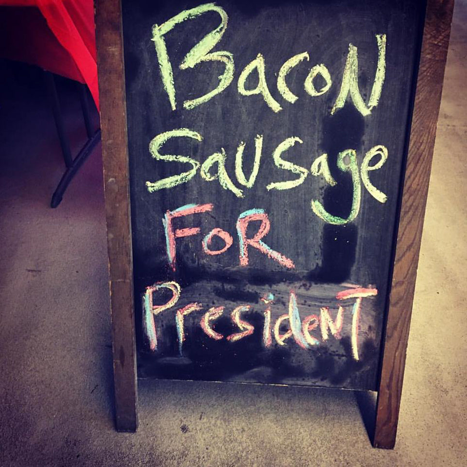 Bacon Sausage for President | Big Fork Brands
