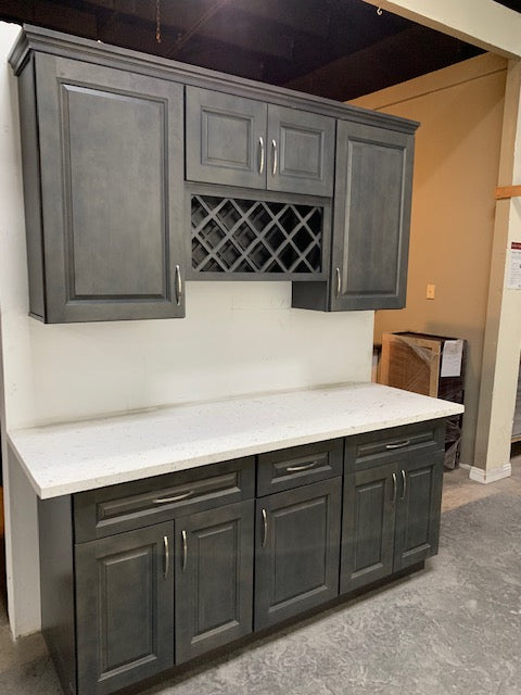 New York Raised Gray - Kitchen Cabinets, kitchen cabinets for sale, kitchen cabinets near me, las vegas kitchen cabinets, buy kitchen cabinets, where can I buy kitchen cabinets, best kitchen cabinets, kitchen cabinets wholesale