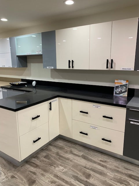 EURO GLOSSY CREAM - Kitchen Cabinets, kitchen cabinets for sale, kitchen cabinets near me, las vegas kitchen cabinets, buy kitchen cabinets, where can I buy kitchen cabinets, best kitchen cabinets, kitchen cabinets wholesale