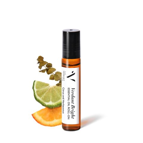 Verdant Bright | Essential Oil Roll-On-Essential Oil Roll-On-The Verdant Lab-The Verdant Lab