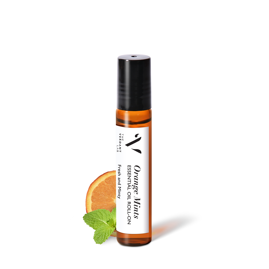 Orange Mints | Essential Oil Roll-On-Essential Oil Roll-On-The Verdant Lab-The Verdant Lab