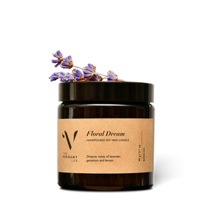 Floral Dream | Soy Wax Candle-Candle-The Verdant Lab-The Verdant Lab