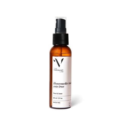 Honeysuckle Amber | Linen Spray-Linen Spray-The Verdant Lab-60 ml-The Verdant Lab