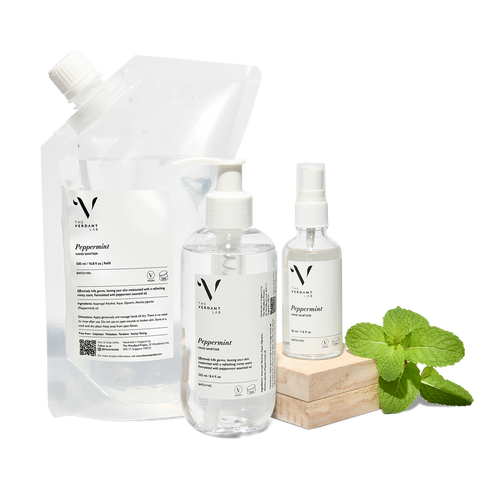 Peppermint | Hand Sanitiser-Hand Sanitiser-The Verdant Lab-50 ml-The Verdant Lab
