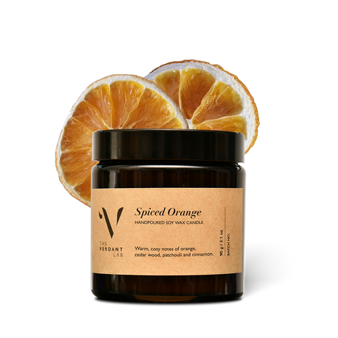 Spiced Orange | Soy Wax Candle-Candle-The Verdant Lab-The Verdant Lab
