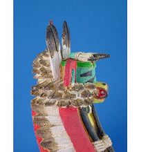 Load image into Gallery viewer, Vintage Hopi Kwa-Hu Eagle Kachina by M. Avatchoya