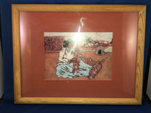 Load image into Gallery viewer, Goldfarb Print Set of 4 Southwestern Native American Indian Women