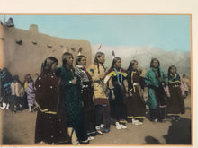 Load image into Gallery viewer, B.G. Randall Photograph Intertribal Social Dance colored by Cliff Mills (Randall's great-grandson)