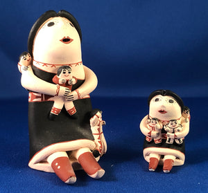 Storytellers Set of 2  by P. Nez N.M.