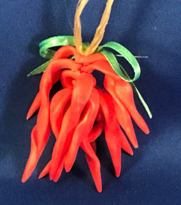 Chili Pepper Christmas Ornament