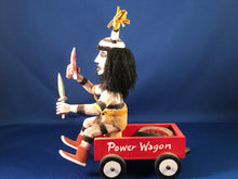 Load image into Gallery viewer, Navajo Kashari Kachina in Red Power Wagon
