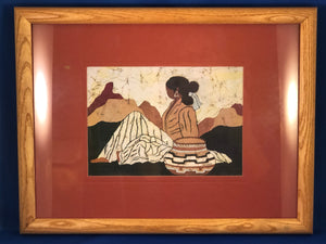 Goldfarb Print Set of 4 Southwestern Native American Indian Women