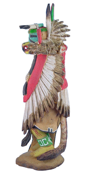 Vintage Hopi Kwa-Hu Eagle Kachina by M. Avatchoya