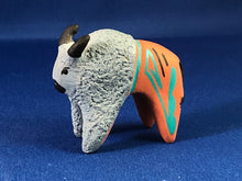 Load image into Gallery viewer, Blue Buffalo Pottery Figurine