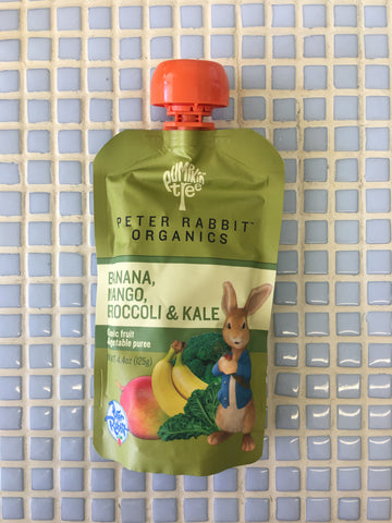 peter rabbit organics kale/broccoli & mango