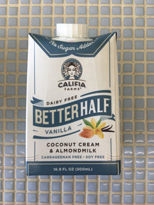 califia better half vanilla