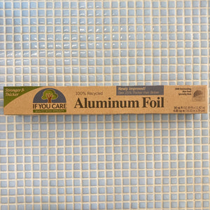 if u care recycled aluminum foil