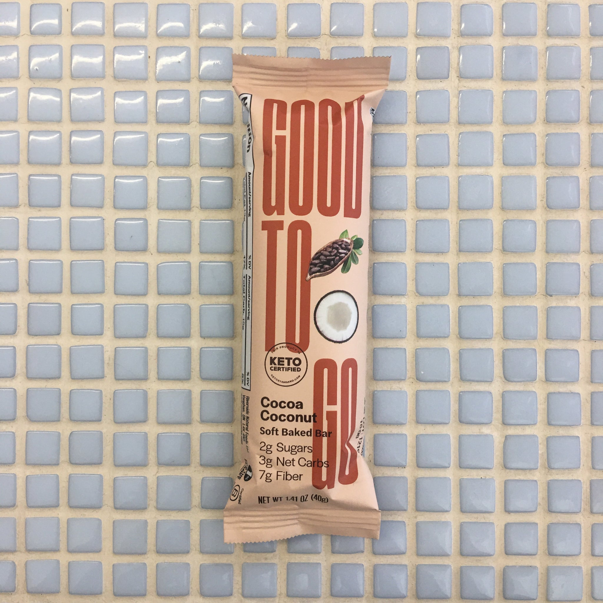 good to go cocoa coconut bar