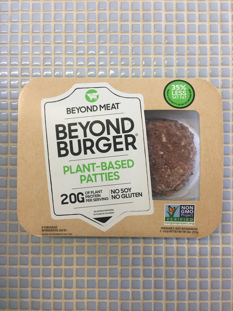beyond meat beyond burger plant based patties