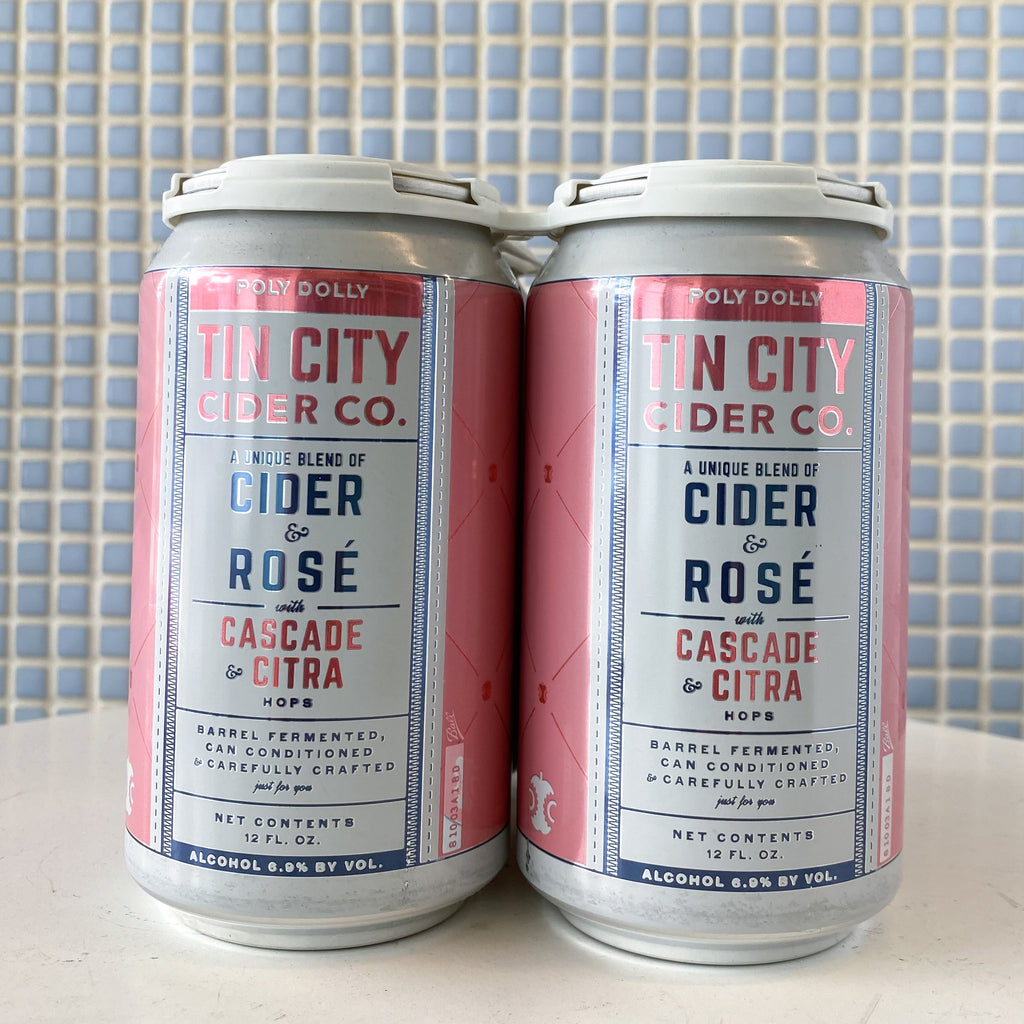 tin city poly dolly cider rose