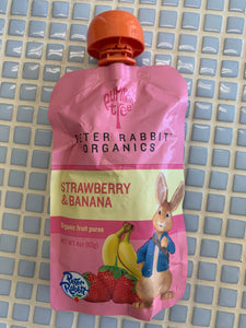 peter rabbit strawberry banana puree