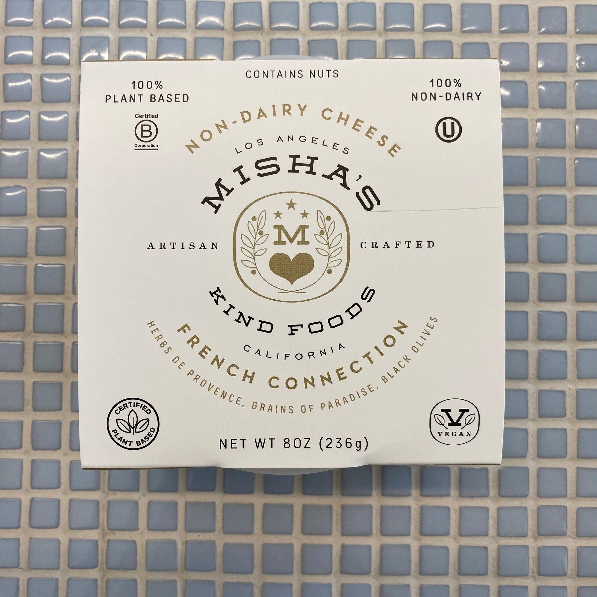 mishas french connection vegan nut cheese