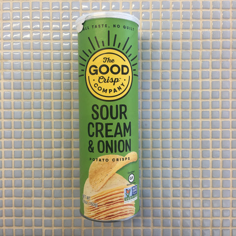 the good crisp company sour cream and onion chip