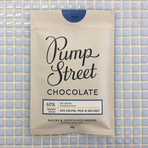 pump street chocolate rye crumb milk & sea salt 60%