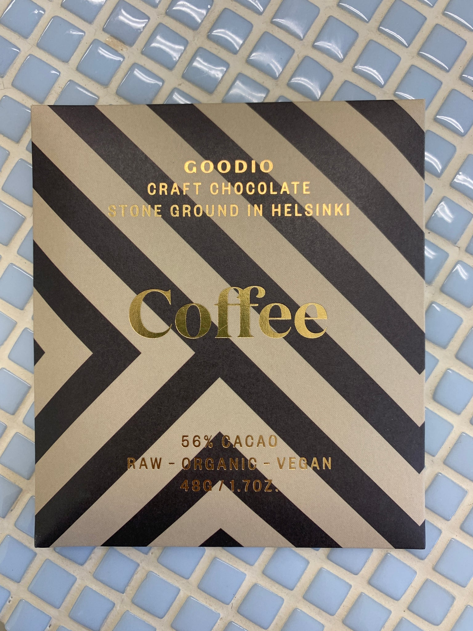 goodio craft chocolate coffee 56 cacao stone ground in helsinki